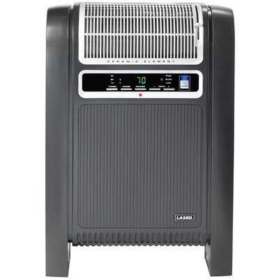 Lasko Cyclonic Ceramic Heater with Remote Control and Fresh Air Ionizer
