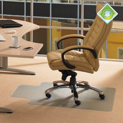 Floortex Ecotex Standard Pile Carpet Lipped Chairmat