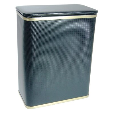 Redmon Bath Jewelry Diamond Pattern Vinyl Hamper