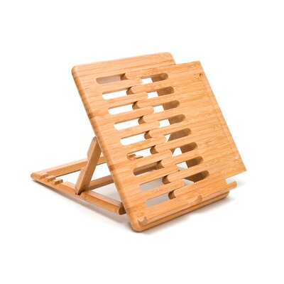 Lipper International Bamboo Expandable / Adjustable I-Pod Stand