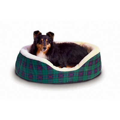 Plaid Nesting Pet Bed