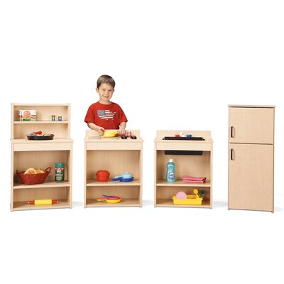 Young Time Four Piece Play Kitchen Set