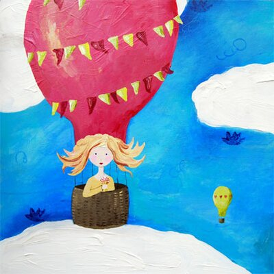 CiCi Art Factory Wit & Whimsy Up Up & Away Canvas Print