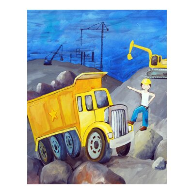 CiCi Art Factory Construction Zone Paper Prints