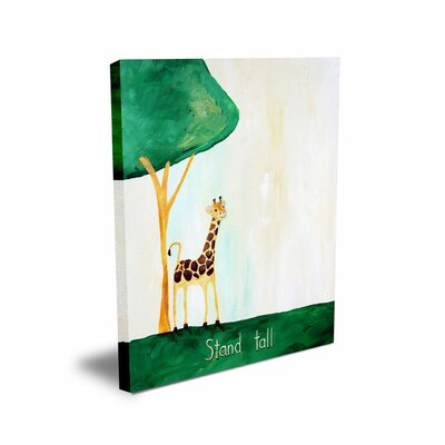CiCi Art Factory Words of Wisdom Stand Tall Canvas Art