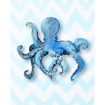 CiCi Art Factory Nautical Octopus Giclée Canvas Print