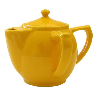 Wade Ceramics Dignity Two Handled Teapot in Yellow