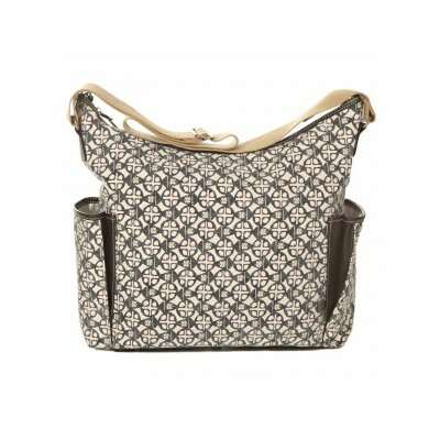 OiOi Safari Medallion Tote Diaper Bag