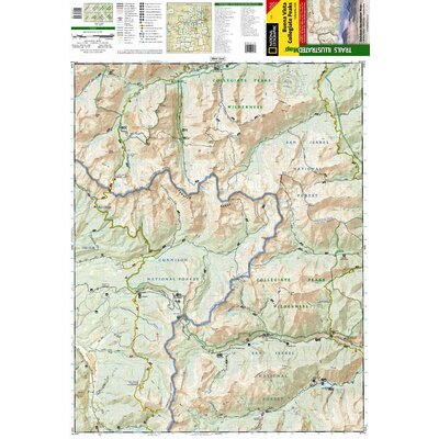 National Geographic Maps Trails Illustrated Map Buena Vista / Collegiate Peaks
