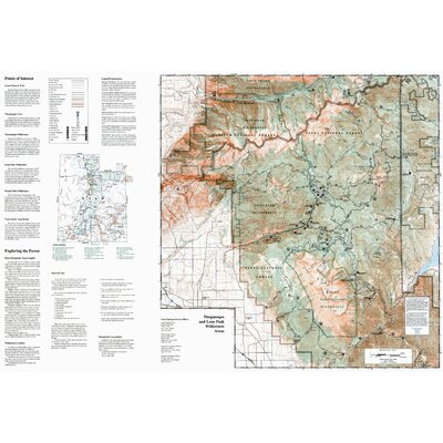 National Geographic Maps Trails Illustrated Map Uinta National Forest