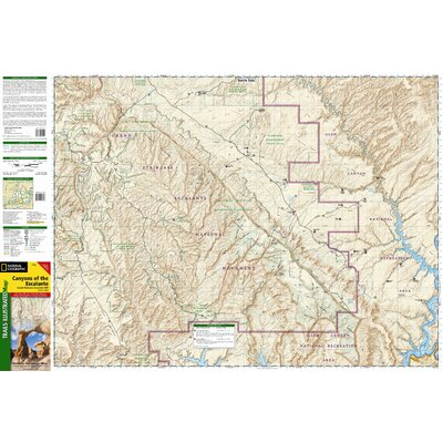 National Geographic Maps Trails Illustrated Map Canyons of the Escalante