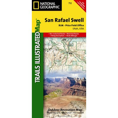 National Geographic Maps Trails Illustrated Map San Rafael Swell