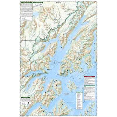 National Geographic Maps Trails Illustrated Map Prince William Sound, West