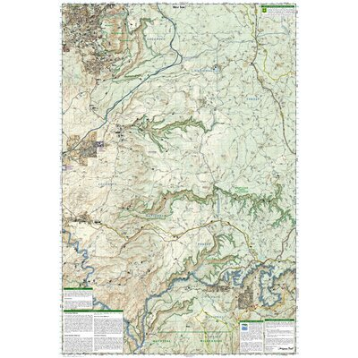 National Geographic Maps Trails Illustrated Map Mogollon Rim & Munds Mountain Wilderness Areas, Apache-Sitgreaves, Coconino & Tonto National Forests
