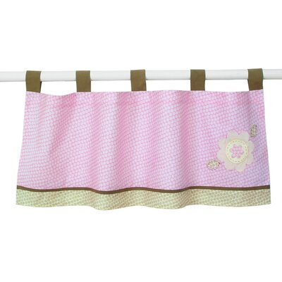 Sumersault Fiona Tab Top Tailored Curtain Valance