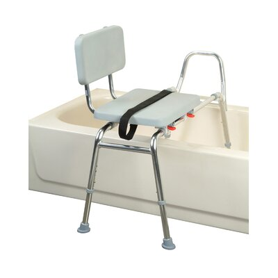 Eagle Health Transfer Bench with Padded Seat and Back