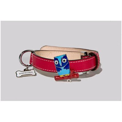 BowhausNYC Owl Collar in Red
