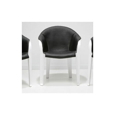 Vlaemsch ( ) Leather and Plastic Arm Chair