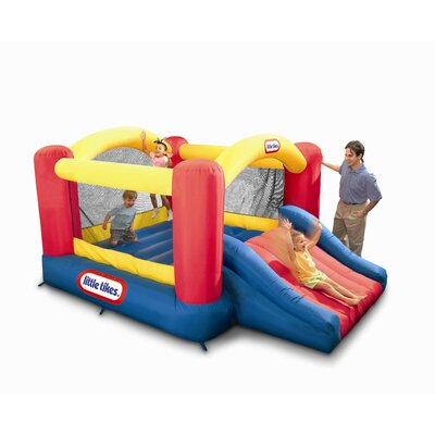 Little Tikes Jump 'n Slide Dry Bounce House