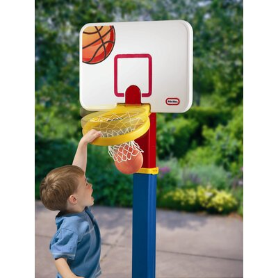 Little Tikes Adjust 'n Jam Basketball Set