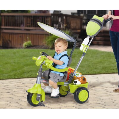 Little Tikes 4-in-1 Deluxe Edition Trike with Discover Sounds Dash