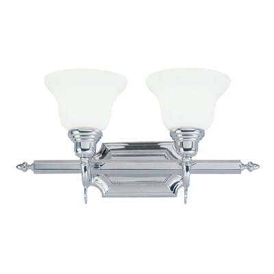 Livex Lighting French Regency  Vanity Light in Chrome