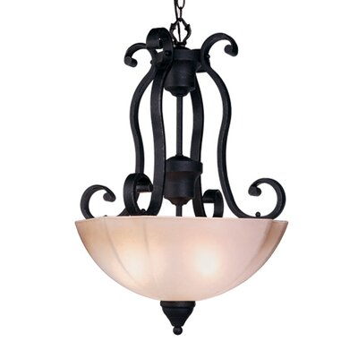 Livex Lighting Homestead 3 Light Inverted Pendant