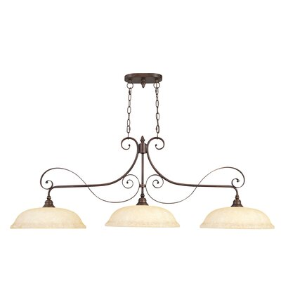 Manchester 3 Light Kitchen Island Pendant