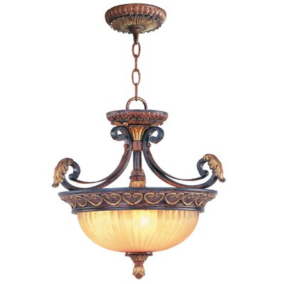 Livex Lighting Villa Verona Convertible Inverted Pendant
