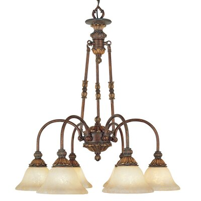 Livex Lighting Sovereign 6 Light Chandelier