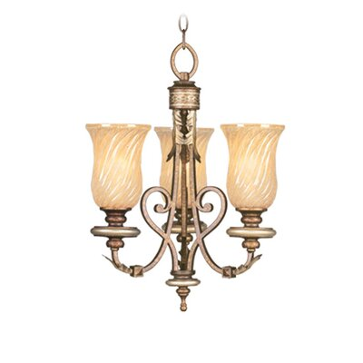 Bristol Manor 3 Light Convertible Mini Chandelier