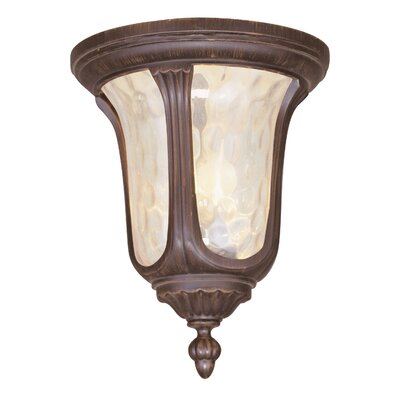 Livex Lighting Oxford Outdoor Flush Mount