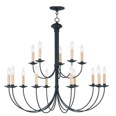 Heritage 15 Light Chandelier