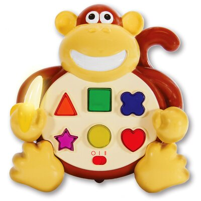 Early Learning Animal Pals Colors and Shapes Monkey