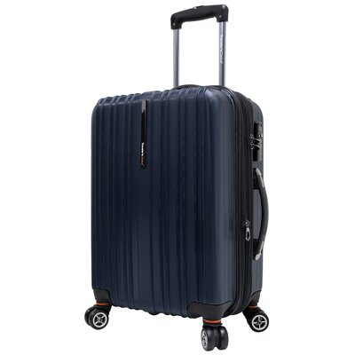 "Traveler's Choice Tasmania 21"" Expandable Hardsided Spinner Suitcase"