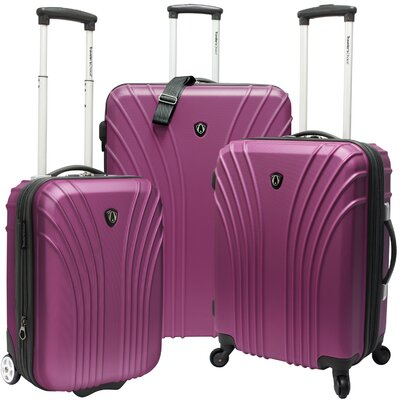 Traveler's Choice 3 Piece Hardsided Expandable Luggage Set