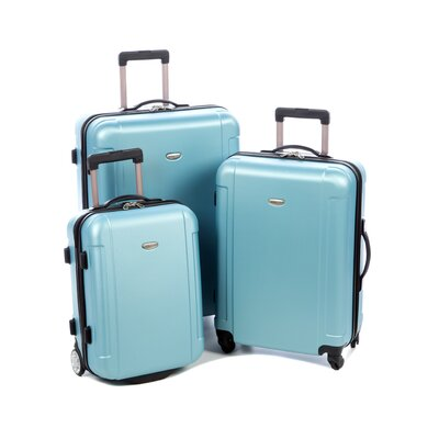 Traveler's Choice Freedom 3 Piece Lightweight Hard Shell Spinning/Rolling Luggage Set