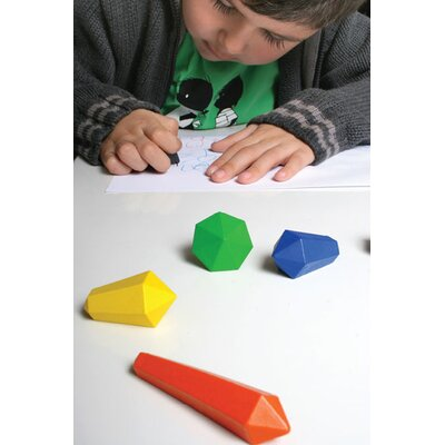 Kikkerland Crystal Crayons (Set of 6)