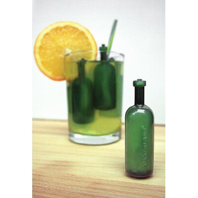 Kikkerland Reusable Ice Cubes Bottles