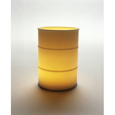 Kikkerland Porcelain Barrel Candle Holder