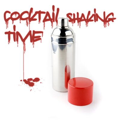 Kikkerland Graffiti Cocktail Shaker