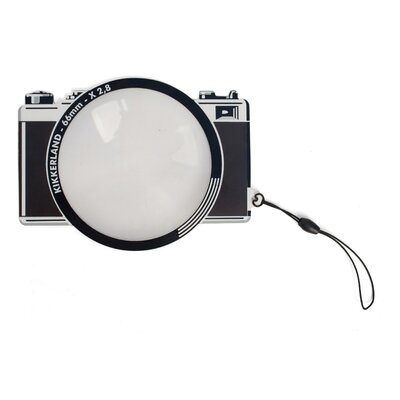 Kikkerland Fresnel Bookmark 66mm Camera