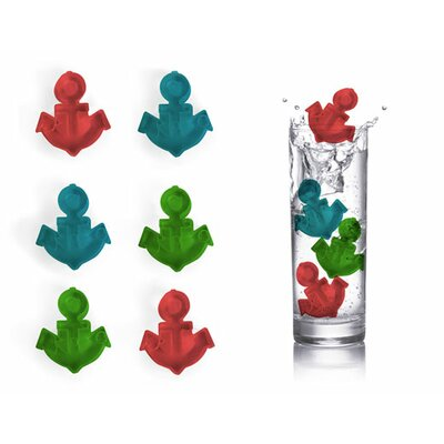 Kikkerland Reusable Ice Cubes