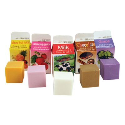 Kikkerland Scented Erasers (Set of 5)