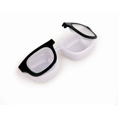 Kikkerland Retro Specs Contact Lens Case