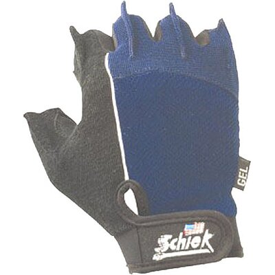 Schiek Sports, Inc. Cross Training Gloves in Blue / Black