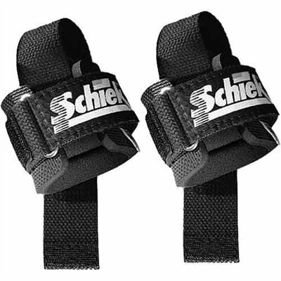 Schiek Sports, Inc. Power Lifting Straps in Black