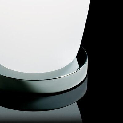 Kundalini Gherkin Table Lamp in White