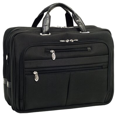 R Series Rockford Nylon Laptop Case in Black