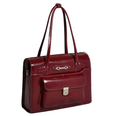 McKlein USA W Series Wenonah Leather Ladies' Briefcase